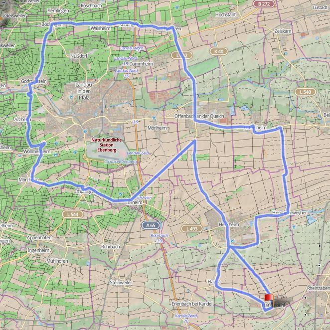 16-CCT-Strecke